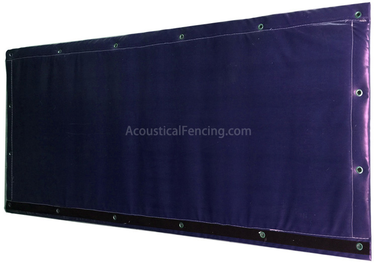 Acoustic Fence Solutions Portable Acoustical Mass Loaded Vinyl Fence