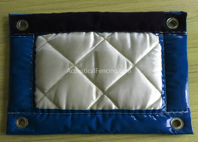 Acoustic Noise Absorbing Portable Barriers Fencing