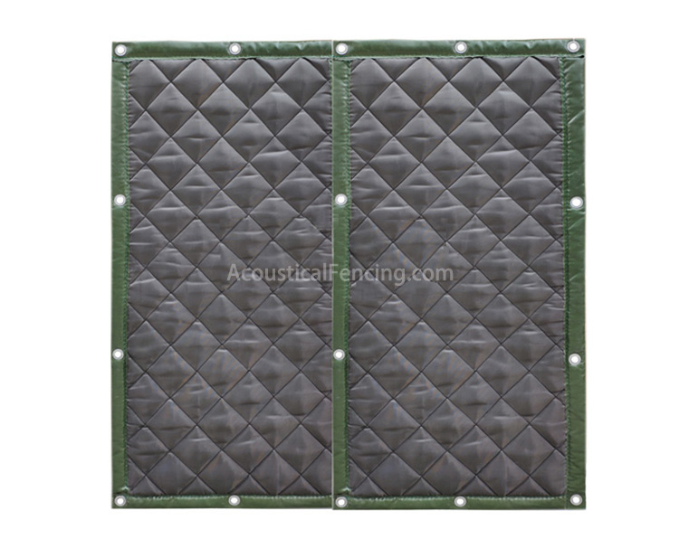 Quick Build Acoustic Fence for Construction Machine Noise Acoustical Noise Fences
