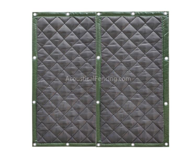 Quick Build Acoustic Fence for Construction Machine Noise Acoustical Noise Fences