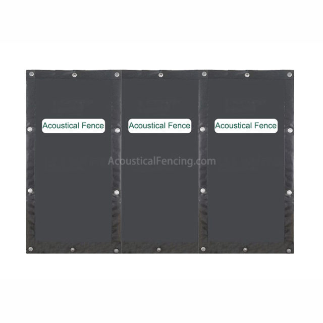 Acoustic Fencing Suppliers Acoustic Fencing Hanging on Timber Acoustical Fencing