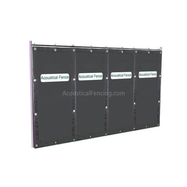 Noise Blocking Fence Suppliers Acoustic Block Fence Noise Blocking Fences for Mesh Fence