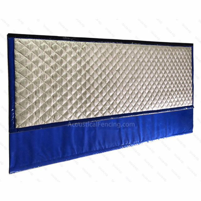 Sound Dampening Fence Various Sound Deadening Fence Designs Blue Green Black