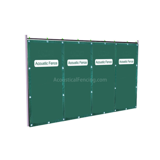 Soundproofing Fence Suppliers Sound Proofing Fence for Construction Site Soundproofing
