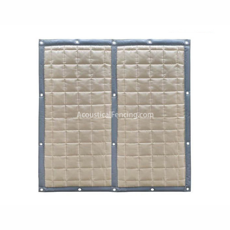 Soundproofing Outdoor Fences Supplier Acoustical Fece Soundproofing for Fences